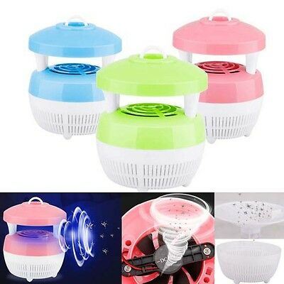Quiet Anti Mosquito light UV Insects Trap Lamp Killer radiation free table light