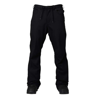 Analog Remer Slouch Mens 2017 Black Snowboard Pants Free Delivery Australia