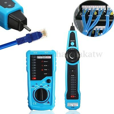 Multi-function RJ45 RJ11 Wire Tracker Phone Network LAN Cable Line Tester Finder
