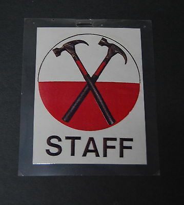 PINK FLOYD The Wall February 1980 LOS ANGELES Concert STAFF Backstage PASS