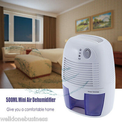 500ML Mini Air Dehumidifier Moisture Absorber for Home Bedroom Kitchen Office