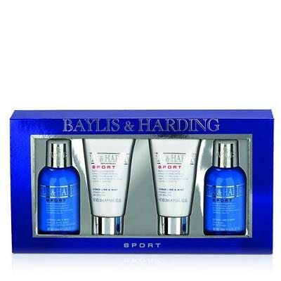 Baylis & Harding Citrus Lime and Mint Gift Pack 4 Piece FREE P&P
