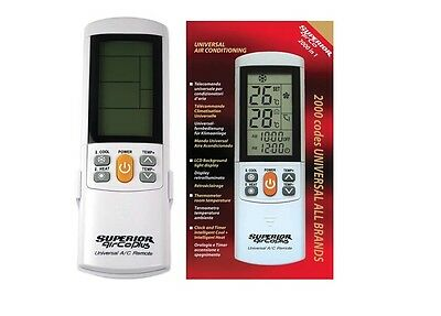 SUPERIOR AirCo PLUS Universal-Remote-Control for air conditioning devices