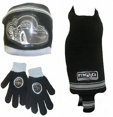 Disney Cars Hat, Gloves and Scarf Set