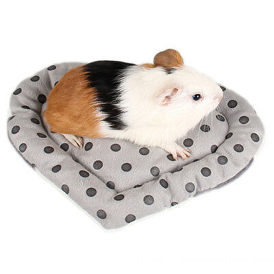 Soft Guinea Pig Bed Winter Small Animal Cage Mat Hamster Sleeping House Pad