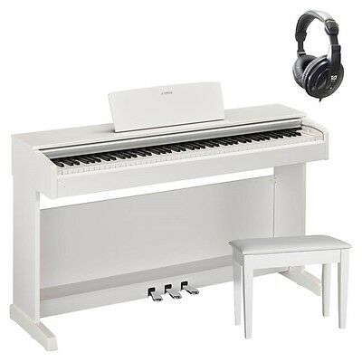 Yamaha YDP143 Digital Piano Package in White