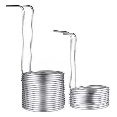 4 Sizes 304 Stainless Steel Immersion Wort Chiller! Great for Home Brewing!