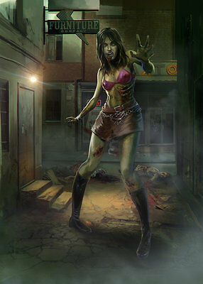 Ultra Pro Type Sleeves Card Sleeves, Zombie Collection Courtney 50 Pieces