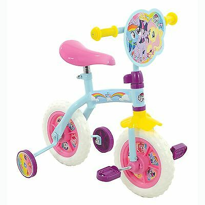 "My Little Pony 2 In 1 Training & Balance Bike 10"" Adjustable Height Kids Girls"
