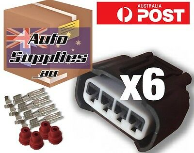 Coil Plug Connector Set of 6 for Toyota Coil Pack Yaris Corolla Echo 3SGE