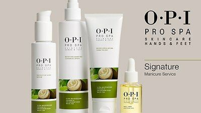NEW OPI Pro Spa Skincare Treatments & Creams For Hands Feet & Nails