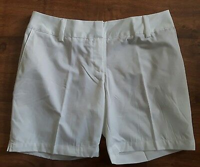 Adidas ClimaLite Golf Shorts Ladies Size S(10)