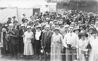 Postcard   Suffolk   Felixstowe   Convention  1935   Rp
