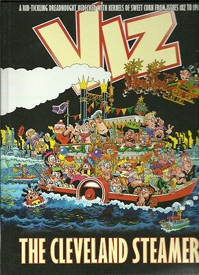 VIZ comic THE CLEVELAND STEAMER hardback Best of issues 182-191 cartoon strips