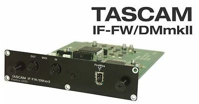 Tascam IF-FW/DMmkii 32 Channel FireWire Card for DM3200 and DM4800 Mixers