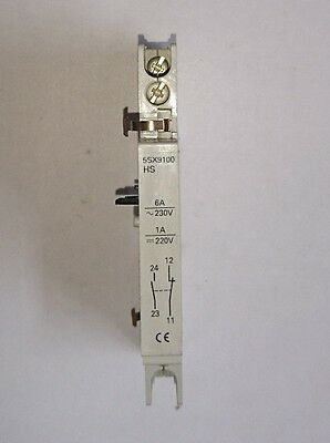 Siemens 5SX9100 HS Auxiliary Contact Block