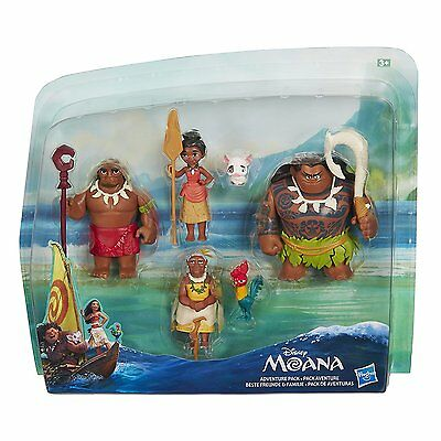 Disney Moana Adventure Figure Pack  *BRAND NEW*