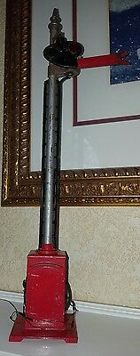"""LIONEL 80 SEMAPHORE RED STANDARD GAUGE 15"""" tall FREE US SHIPPING"""