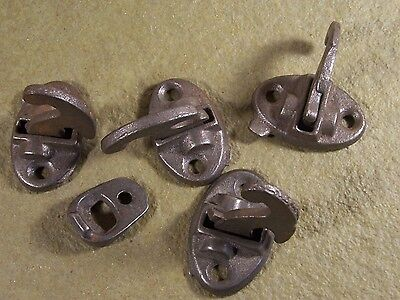 Antique Cast Iron Window Latch Catch Hardware Parts Sash Lock
