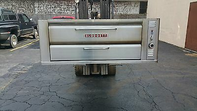 Blodgett 961 P  Stainless  Single pizza oven with new Superior Baking stones