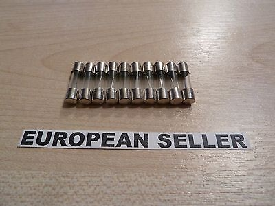 10pcs 15A  15 Amp F15AL  250V glass fuse 5 x 20mm
