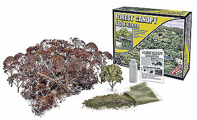 Woodland Scenics Scenery Kit - Forest Canopy * Light Green *