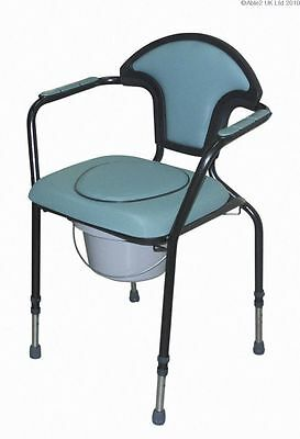 Able2 Luxury Commode Chair - Green