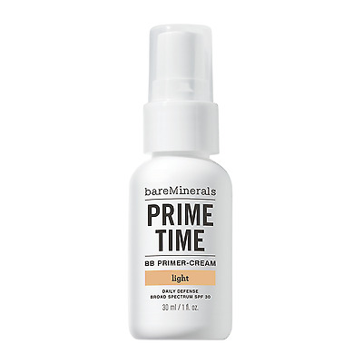 bareminerals prime time BB primer cream SPF30. light