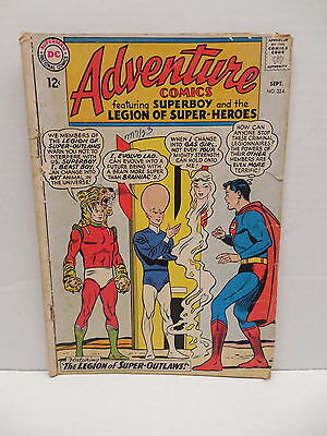Adventure DC Silver Age Comic Book #324 Legion Super-Heroes Superboy