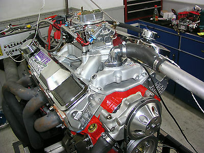SBC CHEVY 383 STROKER STAGE 2 0 CRATE MOTOR 503 hp BASE ENGINE