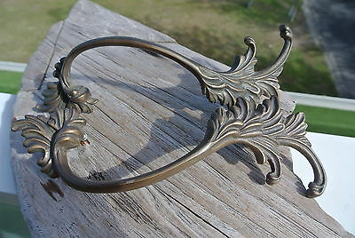 2 old look french style pulls handles for antiques brass vintage replace doors