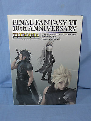 Japan FINAL FANTASY VII 7 10th Anniversary ULTIMANIA Revised Edition Book
