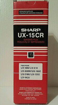 GENUINE Sharp UX-15CR Imaging Film Thermal Ribbon BRAND NEW UX15CR