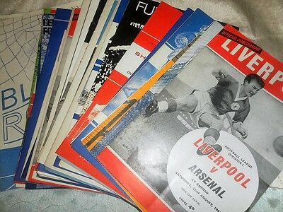Arsenal Away Programmes 1963 - 6   Select From List