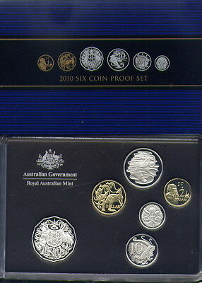 2010 PROOF SET from RAM  A1 CONDITION and  LOW   RESERVE!!!