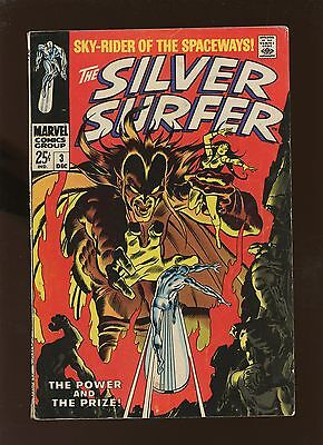 Silver Surfer 3 FN 5.5 * 1 Book Lot * 1st Mephisto!!!