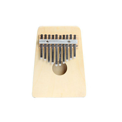 New 10 Keys Finger Thumb Music Piano Kalimba Musical Instrument Ivory