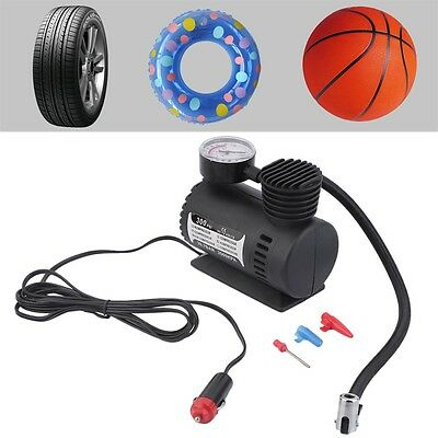 Air Compressor 12V Tire Inflator Toys Sports Car Auto Electric Pump Mini HT