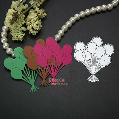 Balloon Metal Cutting Dies Stencil DIY Scrapbook Album Paper Cards Craft Gifts