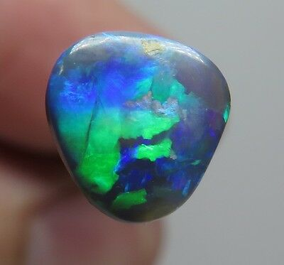 Lightning Ridge Black Opal 0.61Ct Australian Natural Stone