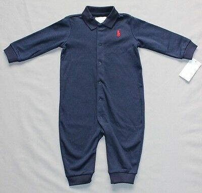 Ralph Lauren Coverall size 6 months BNWT 00 Authentic