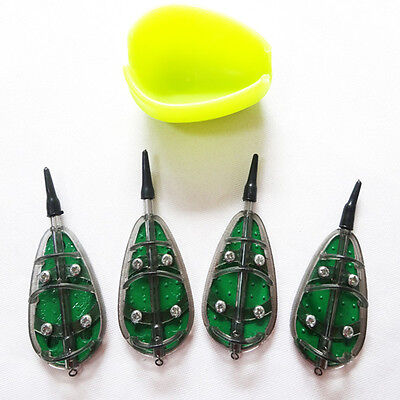 fishing method feeder set 30g 35g 40g 50g fishing bait cage fishing bait