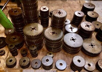 Davenport Screw Machine / Spindle & Feed Gears