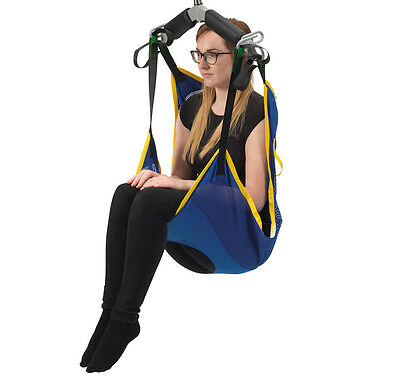 Drive Medical Casa Commode Long Seat Sling for Hoists - Small (Net)