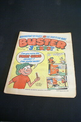 BUSTER Vintage Comic  10th July 1982