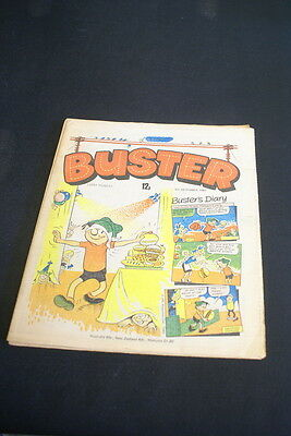 BUSTER Vintage Comic  6th December 1980