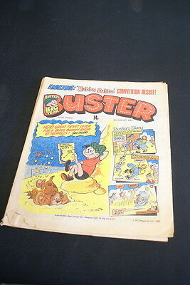 BUSTER Vintage Comic  8th August small rip to corner