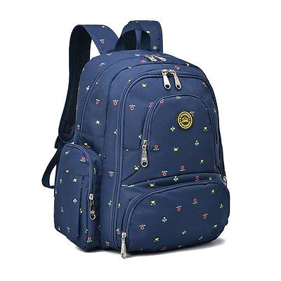 Multifunction Mummy Mother Diaper Nappy Backpack Newborn Baby Pad Changing Bag