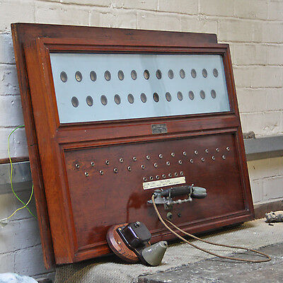 Edwardian Country House Servants Call Board