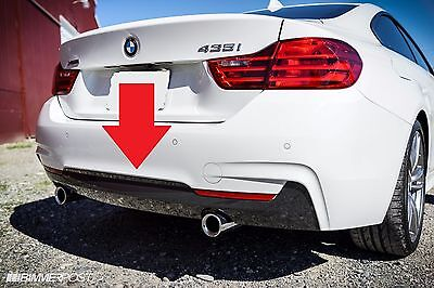 Bmw Genuine 4 Series F32 F33 F36 M Sport Rear Diffuser With Two Muffler Holes
